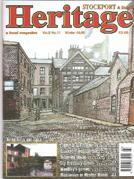 Stockport Heritage Mag cover