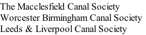 The Macclesfield Canal Society